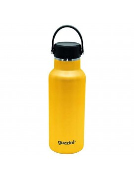 Thermal bottle 500ml bottle in steel guzzini 118250187 yellow