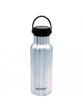 Thermal bottle 500ml in steel guzzini 11825063 gray