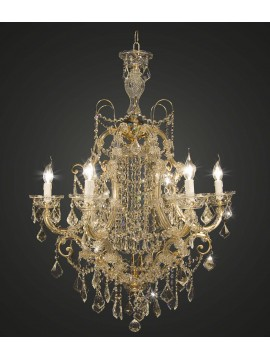 Classic gold crystal chandelier swarovsky design 5 lights BGA 1669-6