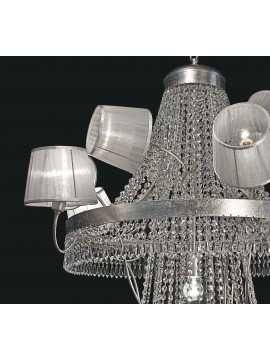 Modern swarovsky design chandelier 8 lights BGA 1755-8s