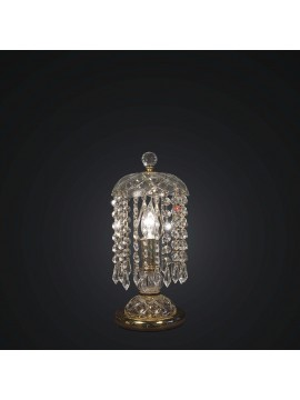 Classic gold crystal swarovsky design table lamp 1 light BGA 1790-lp