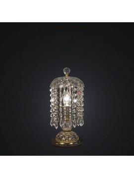 Lumetto classico cristallo oro design swarovsky 1 luce BGA 1790-lp