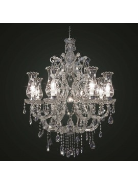 Classic swarovsky design crystal chandelier 8 lights BGA 1797-8