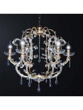 Lampadario classico in cristallo design swarovsky 6 luci BGA 3079-6