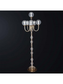 Classic swarovsky design crystal floor lamp 6 lights BGA 3082-pt6