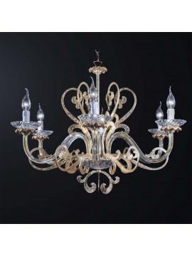 Lampadario classico cristallo design swarovsky 6 luci BGA 3084-6