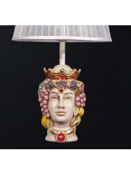 Lumetto lampada testa di moro donna 1 luce BGA 3094-lp
