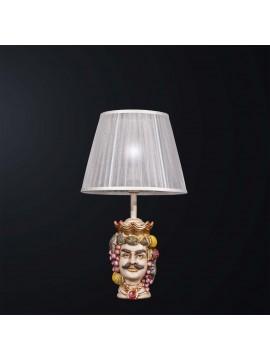 Lumetto lampada testa di moro uomo 1 luce BGA 3094-lp