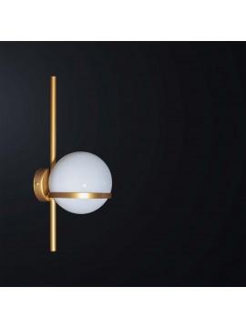 Applique moderno design oro 1 luce BGA 3100-a