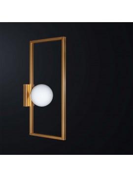 Applique moderno design oro 1 luce BGA 3101-a14