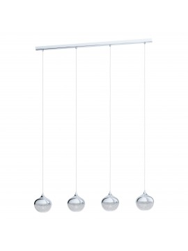 Modern design 4 lights chandelier GLO 98628 Mioglia 1