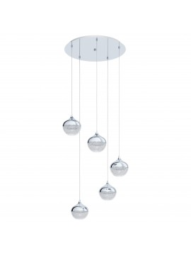 Modern design 5 lights chandelier GLO 98629 Mioglia 1
