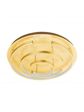 Modern ceiling light with led gold leaf d.52cm GLO 98488 Pozondon