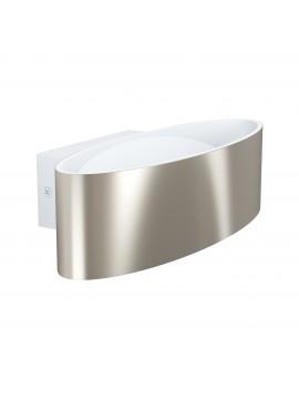 Applique a led design moderno nickel GLO 98543 Maccacari