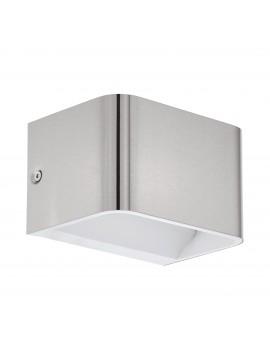 Applique a led design moderno nickel GLO 98424 Sania 4