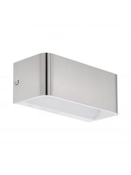 Applique a led design moderno nickel GLO 98425 Sania 4