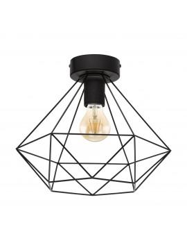 Modern vintage black design ceiling light 1 light GLO 43004 Tarbes