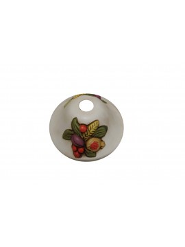 Plate for chandelier d.18 ceramic fruit coll. Vera