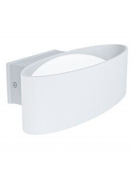 White modern led outdoor wall light GLO 98709 Quinoa
