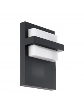 Anthracite design modern led outdoor wall light GLO 98088 Culpina