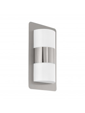 Modern design steel outdoor wall light 2 lights GLO 98085 Cistierna