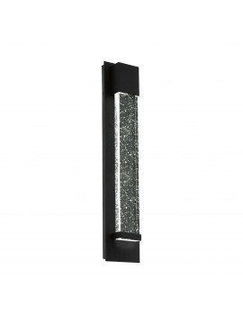 Modern design black LED outdoor wall light GLO 98154 Villagrazia