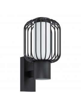 GLO 98721 Ravello modern design black outdoor wall light