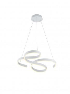 Modern design white led chandelier trio 371310131 Francis