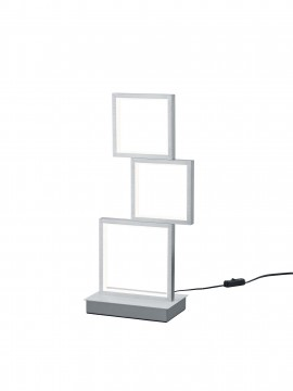 Lampada da tavolo moderna a led design alluminio trio 527710305 Sorrento