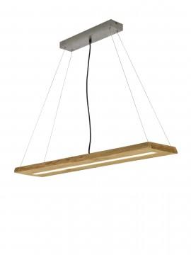 Modern led design wooden chandelier trio 323710130 Brad