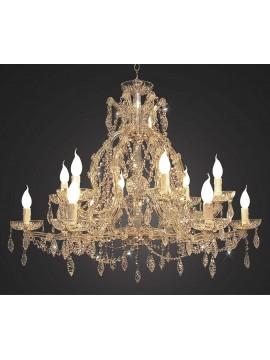 Lampadario classico cristallo design swarovsky 12 luci BGA 1640-6-6