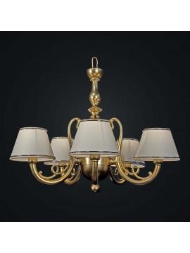 Classic 5 lights gold brass chandelier BGA 1826-5