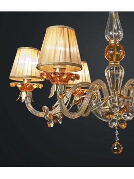 Lampadario classico cristallo design swarovsky 6 luci BGA 1833-6
