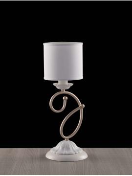 Modern contemporary table lamp 1 light LGT Aurora white-gold
