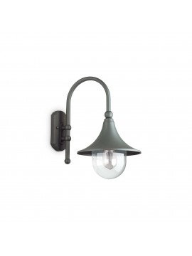 Classic 1-light outdoor wall light Cima ap1 anthracite