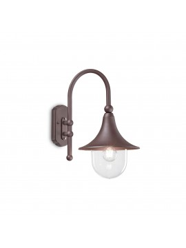 Classic 1 light outdoor wall light Cima ap1 coffee