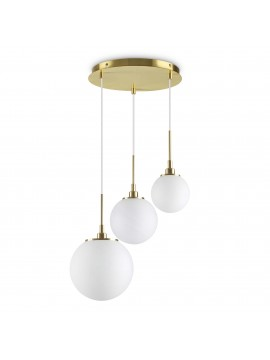 3 lights gold contemporary pendant chandelier Grape sp3
