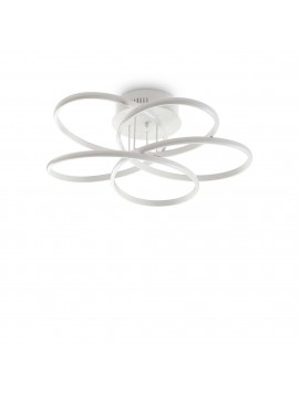 Modern led ceiling light white design karol pl d.65