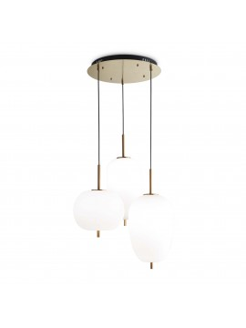 Umile sp3 gold satin modern led pendant light