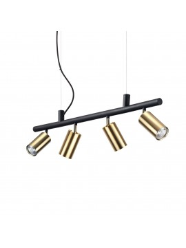 Chandelier spot modern led spotlights design Dynamite sp4 satin brass