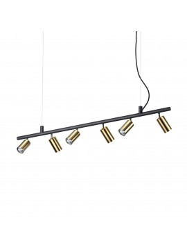 Chandelier spot modern spotlights led design Dynamite sp6 satin brass