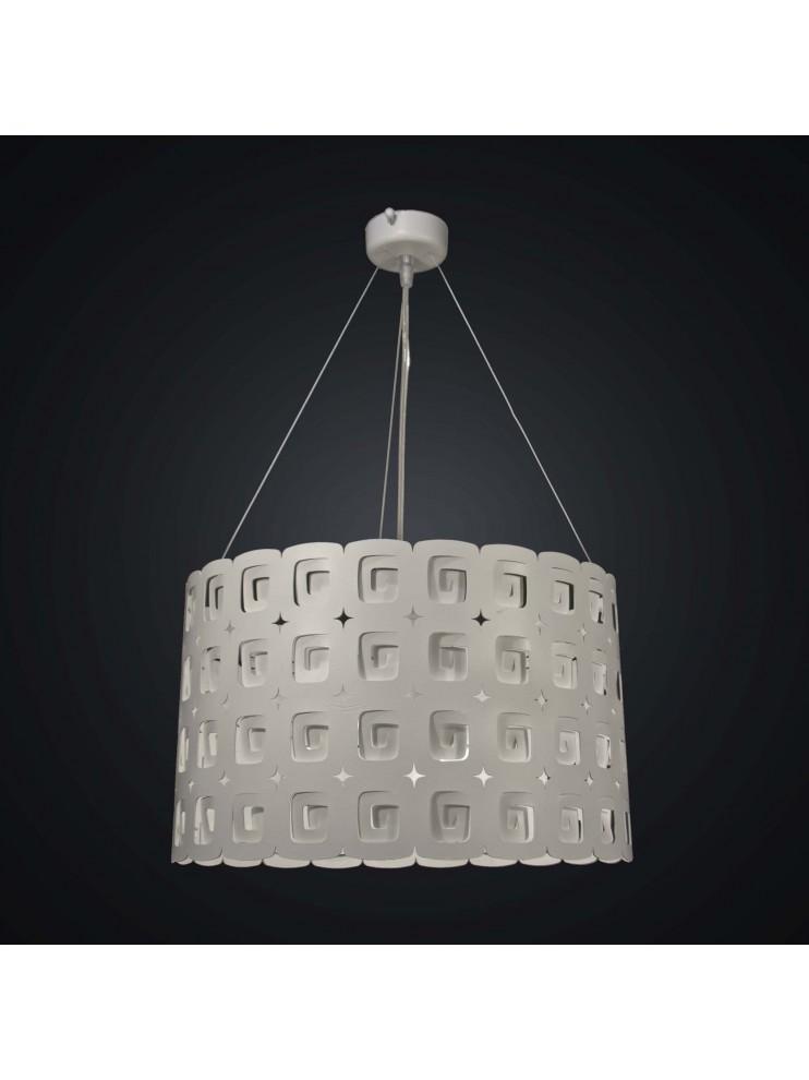 Modern design 3 lights white laser chandelier BGA 1945-s40