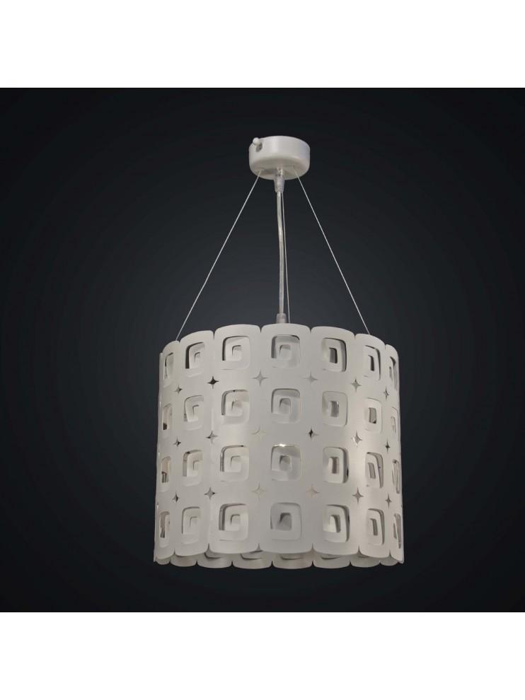 Modern 3 lights white laser design chandelier BGA 1945-s30