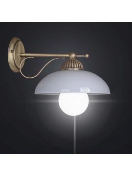 Classic rustic brass wall light 1 light BGA 2096-a