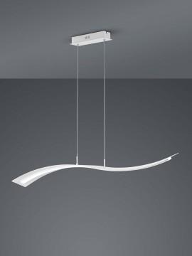 Modern design white led chandelier Trio 324610131 Salerno