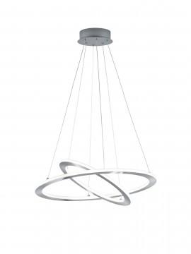 Modern led design nickel trio chandelier 321910207 Durban