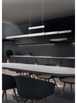 Modern nickel trio extendable led chandelier 375310507 Trajan