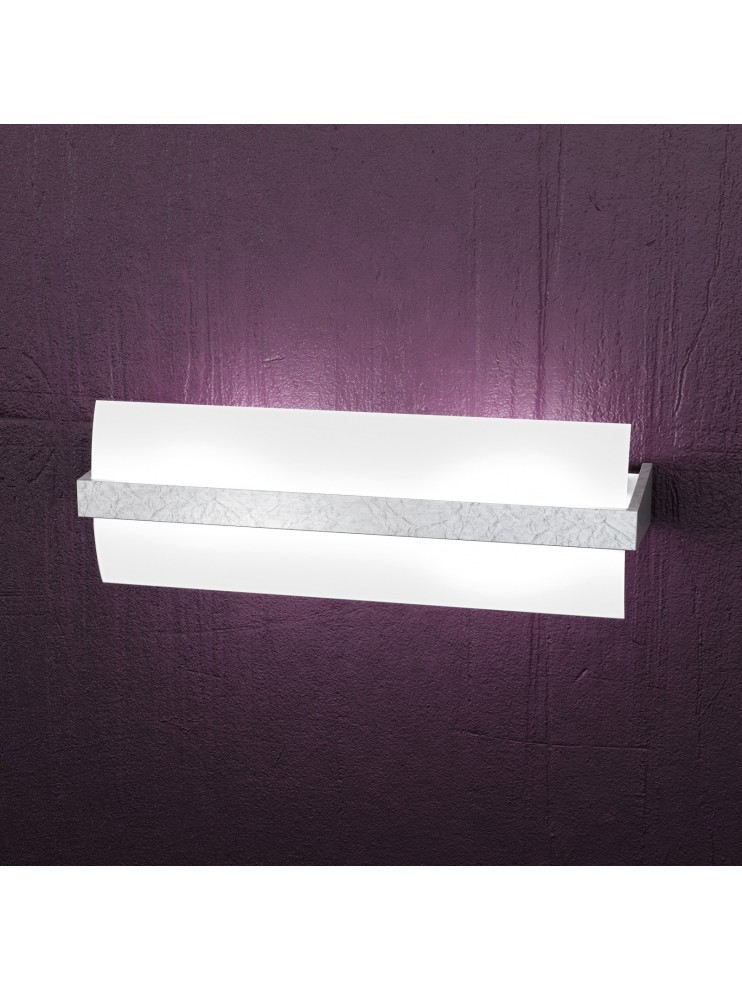 Applique 2 luci moderno legno tpl 1019-a40fa
