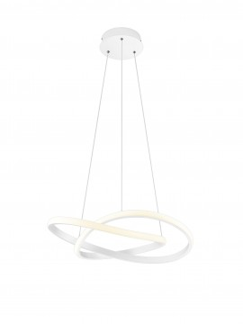 Modern design white trio led chandelier R32051131 Course