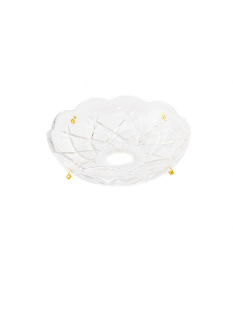 Bobeche cristallo collezione lisa ricambio lampadario e applique